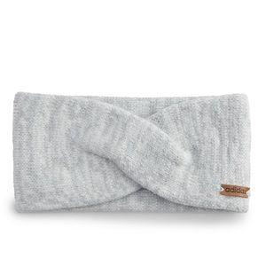 NWT adidas Women's Core Twisted Knot Headband Grey